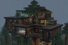 A Modern Tree House