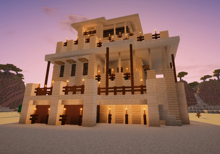 Desert Stone House De Luxe