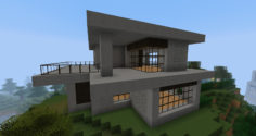 Easy and cool modern house