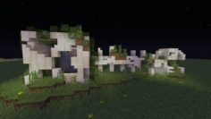 Giant creeper fossil