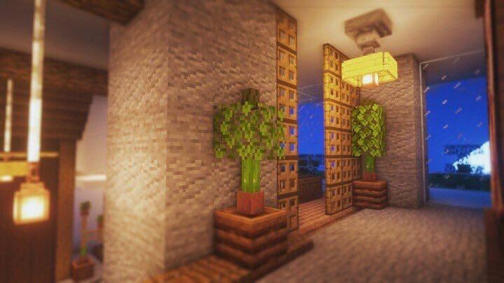 Marvelous Japanese house interior #1