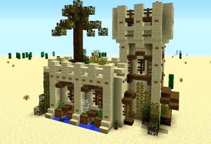 Medieval desert house 3