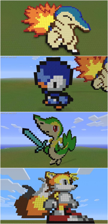 Minecraft Pixelart 2