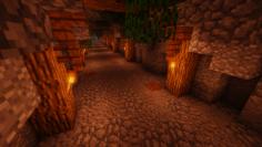 Inside Minecraft Shaft