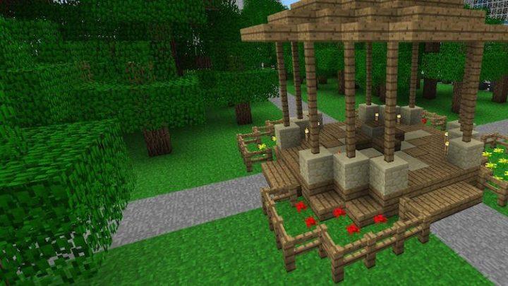 Minecraft park