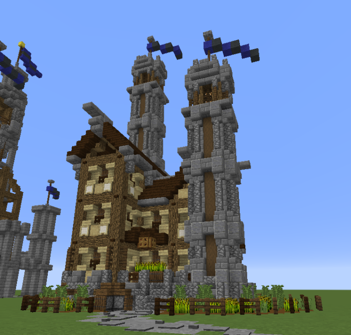 One chunk castle