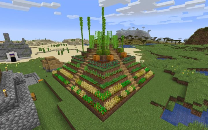 Pyramid Garden Design