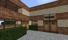 Simple brick house