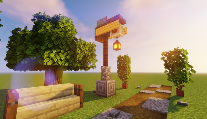 Simple street lamp design