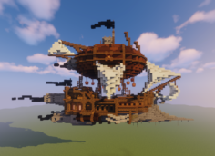 Steampunk ship