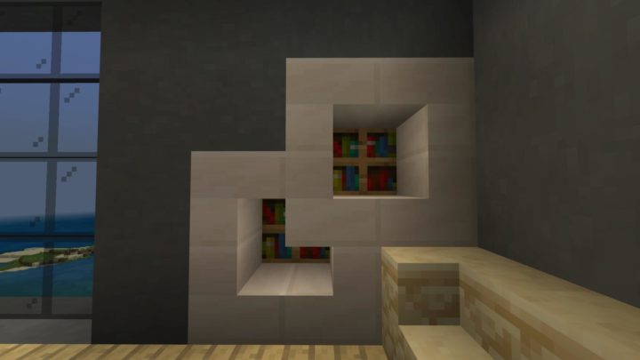 Modern Bookshelf Concept