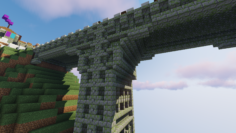 Neatly detailed bridge