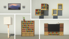 5 Simple Decorations by BBlocks0