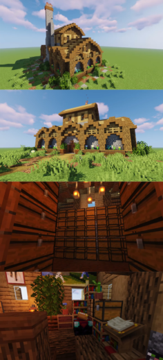 Advanced Storage House by TheMythicalSausage