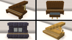 Minecraft Piano Designs by ToastyGhosty4