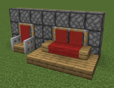 Pistons for the back of chair and slab floor couch by Professor_Pine_MC