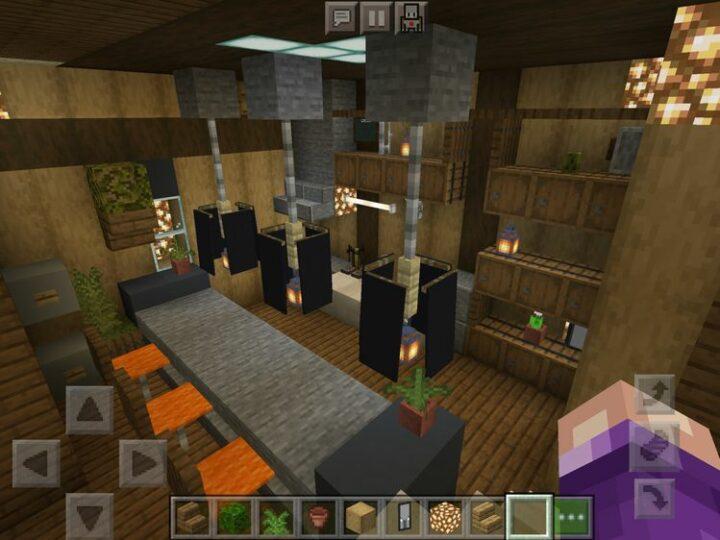 Restaurant interior by Hiruni