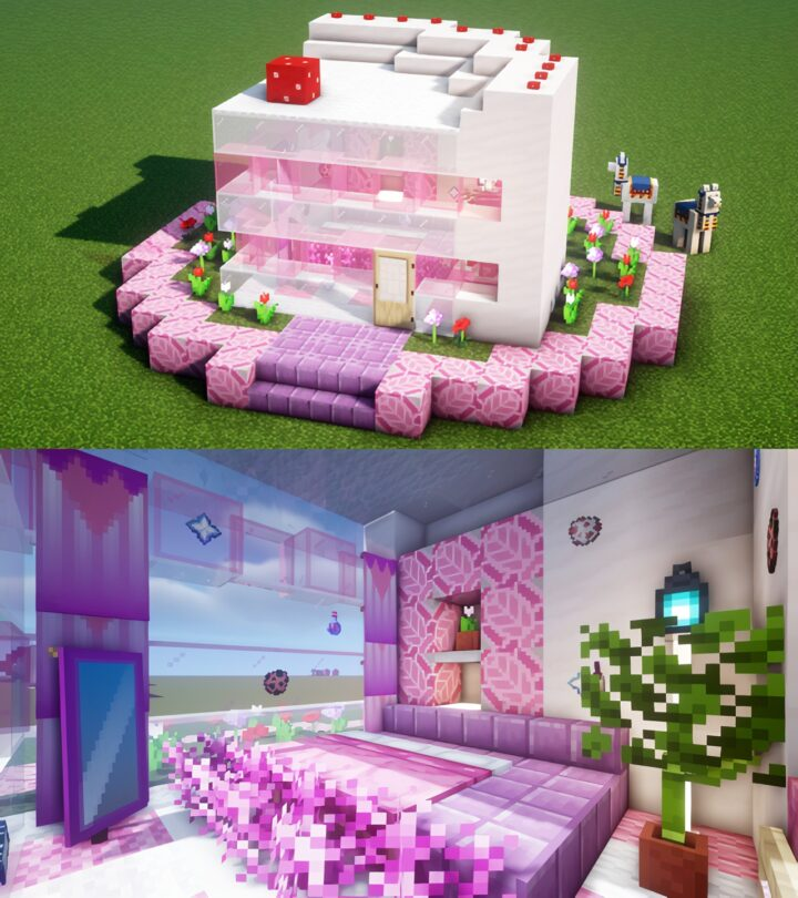 Strawberry Short Cake House