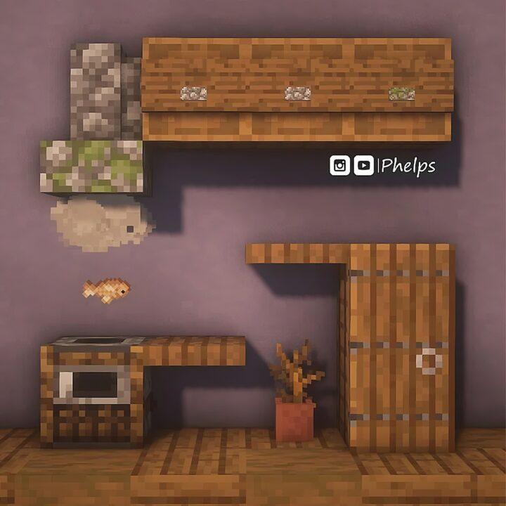 A cool rustic kitchen idea
