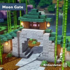 Chinese-inspired Moon Gate