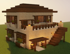Cute little desert house