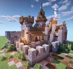 Tiny medieval castle